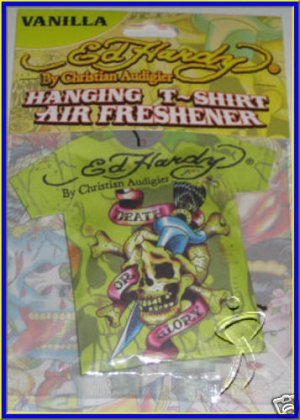 Ed Hardy AIR FRESHENER T Shirt Sachet Death or Glory