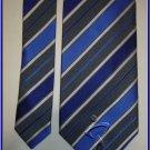 NEW GEOFFREY BEENE SILK TIE DESIGNER BLUE STRIPES