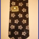 MEN NEW W/TAG STACY ADAM SILK TIE HANKY FLOWERS NECKTIE