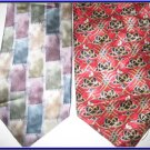 MENS ROBERT TALBOT JIMMY EXECUTIVE DESIGNER SILK TIES