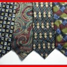 MENS CLAYBROOKE BILL BLASS PERRY ELLIS SILK NECK TIE NR