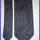 NEW GEOFFREY BEENE SILK TIE DOTS CRISP WOVEN EXECUTIVE