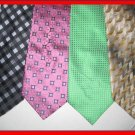 MENS DESIGNER EXECUTIVE COLLECTION CRISP WOVEN SILK TIE