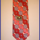 MENS NEW W/TAG STACY ADAM SILK TIE ART DECO PAISLEY