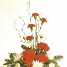 Christmas one-sided arrangement