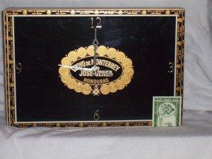 Moya De Monterey Cigar Box Clock