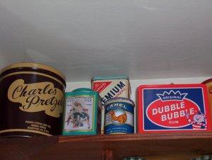 Saturday Evening Post, Charles Pretzel, Dubble Bubble, Premium Cracker