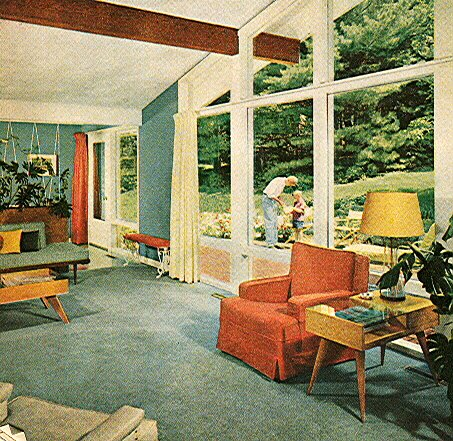 Mid Century Modern Decorating Ideas Book Interior Eichler Eames 1960