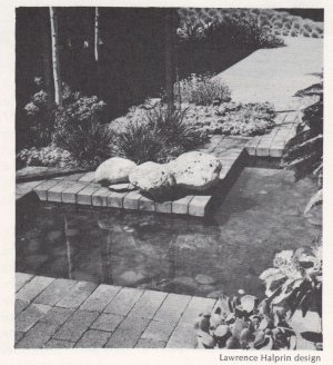 Mid Century Modern How to Build Garden Pools Fountains and Waterfalls Eckbo Church