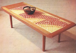 FURNITURE MAKING Collischon 1968 Veneers Mid Century Modern