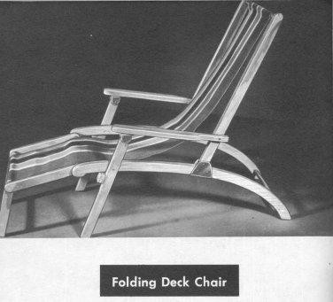 OUTDOOR PATIO FURNITURE Design Build Book Mid Century Modern 1955