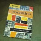 MOSIACS Vintage Mid Century Modern Book 1959