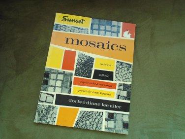 MOSIACS Vintage Mid Century Modern Book 1959