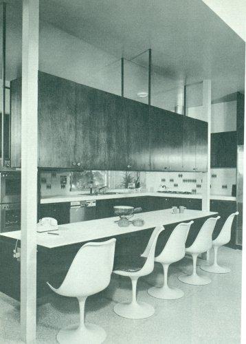 KITCHENS Book Mid Century Modern Atomic Design 1967