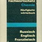 Fachwortschatz Chemie 1973