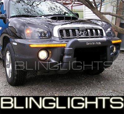 2001-2006 Hyundai Santa Fe Bumper Fog Lamps Lights