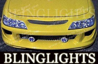 1994-2001 Acura Integra AAS Body Kit Bumper Halo Fog Lamps Driving Lights Foglamps Foglights