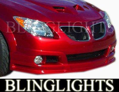 2003-2008 Pontiac Vibe RK Sport Body Kity Foglamps Bumper Foglights Driving Fog Lamps Lights