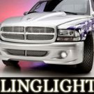 1997 1998 1999 2000 2001 2002 2003 2004 Dodge Dakota Wings West Body Kit Foglamps Fog Lamps Lights