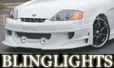2003-2006 HYUNDAI TIBURON EREBUNI BODY KIT FOG LIGHTS DRIVING LAMPS LIGHT LAMP 2004 2005