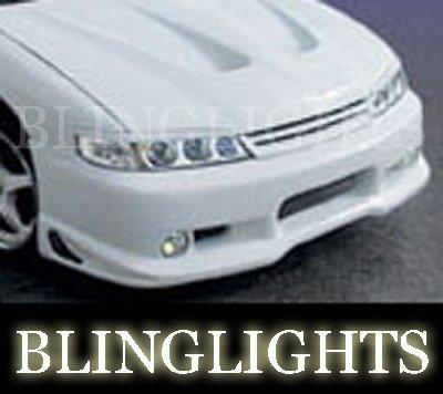 1994 1995 1996 1997 Honda Accord Erebuni Body Kit Fog Lamps Driving Lights Bumper Foglamps Foglights