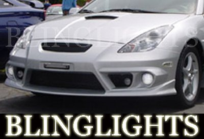 2000 2001 2002 2003 2004 2005 Toyota Celica Silk Automotive Body Kit Bumper Fog Lamps Driving Lights