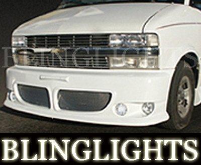 1995-2007 CHEVROLET ASTRO EREBUNI BODY KIT FOG LIGHTS LAMPS 2000 2001 2002 2003 2004 2005 2006