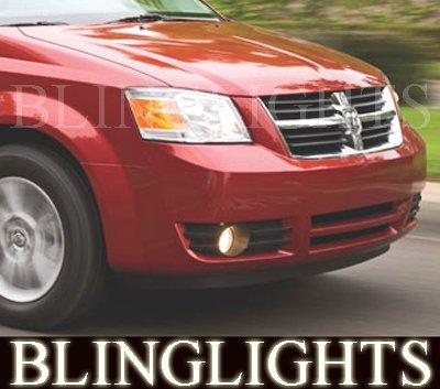 2008 2009 2010 Dodge Grand Caravan Fog Lights Lamps