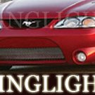 Ford Mustang Erebuni Body Kit Bumper Angel Eye Drivinglights Foglamps 1994 1995 1996 1997 1998