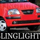 1997-2008 HYUNDAI AMICA CDX FOG LIGHTS HATCHBACK atos 1999 2000 2001 2002 2003 2004 2005 2006 2007