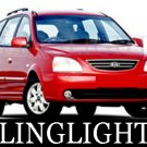 1999-2009 KIA CARENS FOG LIGHTS gs lx le auto 2000 2001 2002 2003 2004 2005 2006 2007 2008
