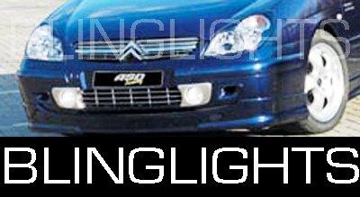 2005 2006 2007 2008 2009 Citroën C5 Gen1 Xenon Fog Lamps Driving Lights Foglamps Foglights Kit