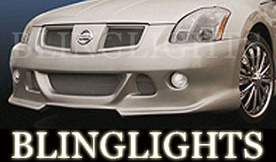 2004 2005 2006 2007 2008 Nissan Maxima Erebuni Body Kit Foglamps Bumper Driving Fog Lamps Lights