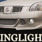 2004 2005 2006 2007 2008 Nissan Maxima Erebuni Body Kit Foglamps Bumper Driving Fog Lamps Lights