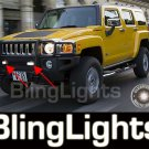 2006 2007 2008 2009 2010 Hummer H3 Grille Xenon Fog Lamps Grill Driving Lights Kit h3t h3x alpha