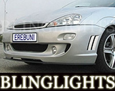 2000 2001 2002 2003 2004 Ford Focus Erebuni Body Kit Foglamps Foglights Driving Fog Lamps Lights