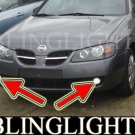 1995-2006 NISSAN ALMERA FOG LIGHTS LAMPS hatchback sedan 97 1998 1999 2000 2001 2002 2003 2004 2005