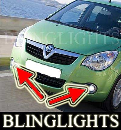 Vauxhall Opel Agila B Xenon Fog Lamps Driving Light Kit Foglights Foglamps Drivinglights
