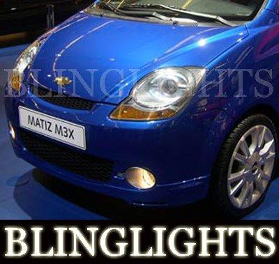 Daewoo Matiz Classic Xenon Driving Lights Fog Lamps Kit M200 M250