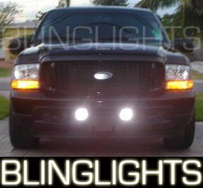 1999 2000 2001 2002 2003 2004 2005 2006 2007 Ford F250 F-250 Xenon Foglamps Fog Lamps Lights Kit