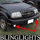 1999 2000 2001 Suzuki Vitara & Grand Vitara Xenon Foglamps Foglights Driving Fog Lamps Lights Kit