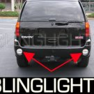 2002-2009 GMC Envoy Rear Blue LED Bumper Lamps Backup Reverse Lights