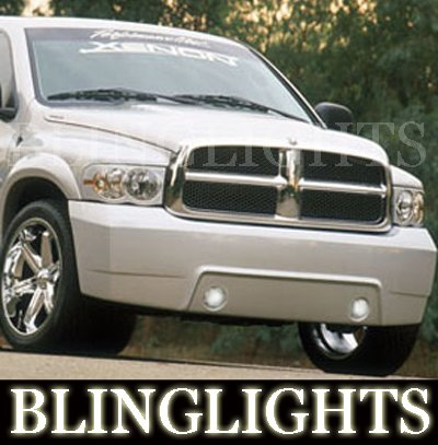 Dodge Ram Xenon Body Kit Foglamps Foglights Driving Fog Lamps Lights