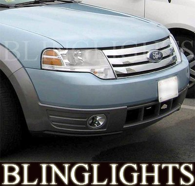 2008 2009 Ford Taurus X Fog Lamps Driving Lights Kit xenon