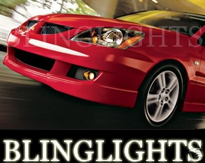 2002 2003 2004 2005 2006 2007 Mitsubishi Lancer Xenon Foglamps Fog Lamps Driving Lights Kit