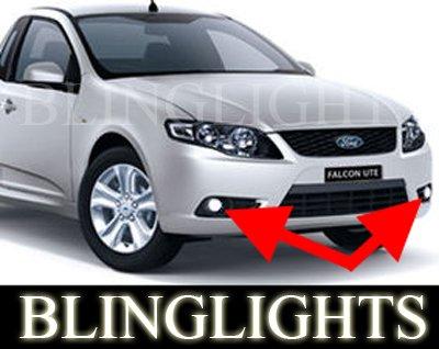 Ford FG Falcon XT Xenon Fog Lamp Driving Light Kit sedan ute