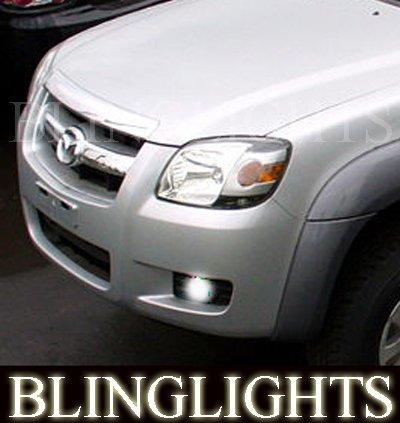 2006 2007 2008 2009 Mazda BT-50 LED Foglamps Foglights Driving Fog Lamps Lights Kit
