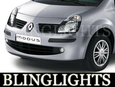 2004-2009 RENAULT MODUS FOG LIGHTS authentique expression 2005 2006 2007 2008