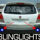 2008 2009 2010 Saturn Vue Rear Bumper LED Lamps Back-Up Accent Driving Lights Kit