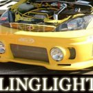 Ford Focus mk1 Junbug body Fog Lamps bumper Lights Kit